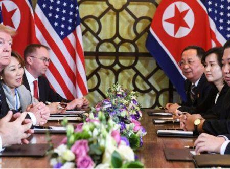 Il vertice USA-Corea democratica termina senza alcun accordo