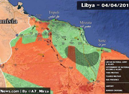 """Battaglia per Tripoli: la Russia gioca il ruolo di """"Moderatore"""", ma sostiene l'LNA di Haftar"""