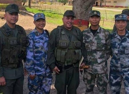 Le truppe cinesi in Venezuela sono rivoluzionarie