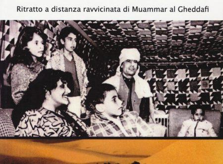 Ritratto a distanza ravvicinata di Muammar al Gheddafi