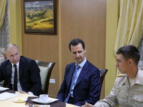 La Siria e i suoi alleati