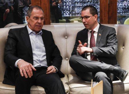 Lavrov rafforza l'alleanza Mosca-Carascas