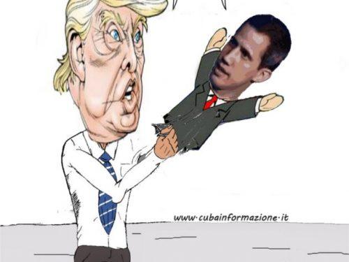 Trump accusa Bolton del fallito golpe venezuelano