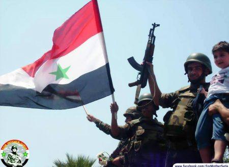 I terroristi in Siria sono armati dagli Stati Uniti di Trump