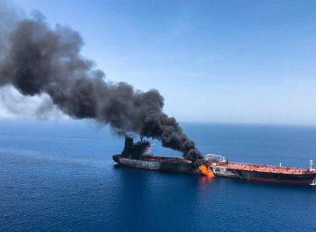 I sospetti attacchi alle petroliere