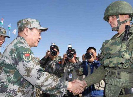 I legami militari sono il fulcro delle relazioni Cina-Russia