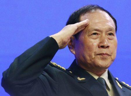 Il leader della difesa cinese manda un messaggio chiaro
