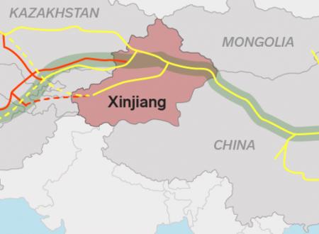 La marcia degli uiguri