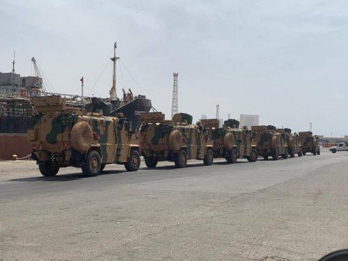 La sala operativa turca a Misurata, ancora sull'intervento di Erdogan in Libia