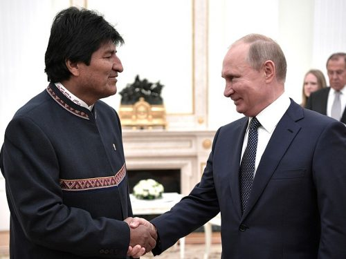 Conversazione con Evo Morales