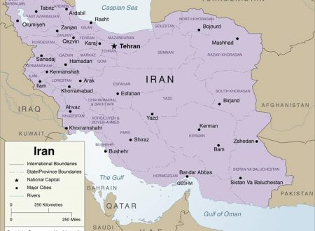 La Gran Bretagna cede all'Iran il controllo sullo stretto di Hormuz