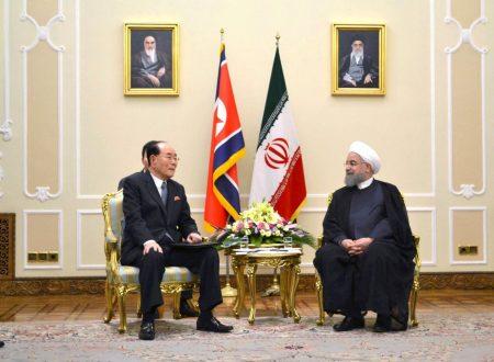 L'Iran potrebbe seguire la Corea Democratica verso l'armamento nucleare