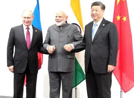 Incontro tra i leader di Russia, India e Cina