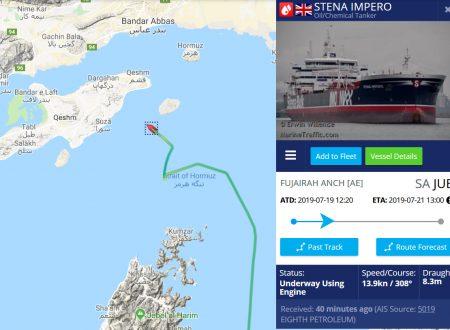 Alla pirateria del Regno Unito, l'Iran risponde sequestrandogli petroliere