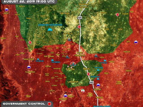 Un'altra vittoria siriana e l'occidente muto