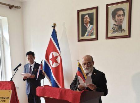 Il Venezuela cerca supporto nella Corea democratica