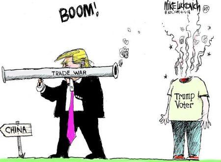 """L'altro muro di Trump. """"Il muro dei soldi"""", verso la guerra valutaria globale"""