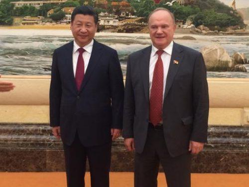 Zjuganov: i tentativi statunitensi di contenere la Cina sono destinati a fallire