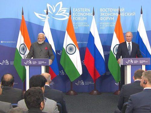 Dichiarazioni stampa a seguito dei colloqui russo-indiani
