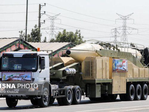 Il missile iraniano Khorramshahr minaccia gli avversari in Medio Oriente