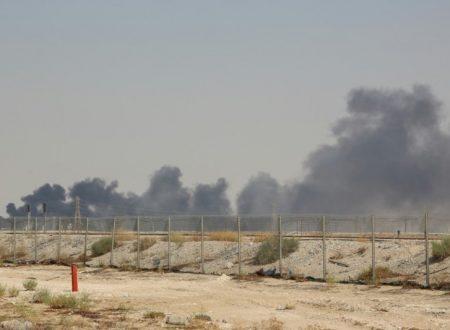 ARAMCO bombardata da droni