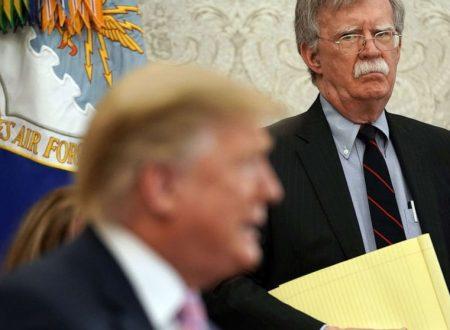 Trump che licenzia Bolton è un buon inizio
