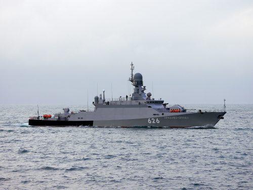 Le corvette della Russia sono quattro volte superiori agli incrociatori degli USA