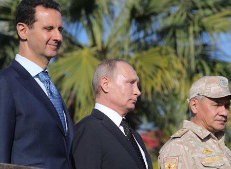 Il capolavoro russo in Siria: vince tutto