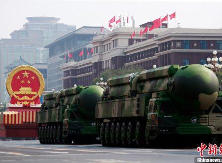 La Cina annuncia la fine del primato degli Stati Uniti nel Pacifico