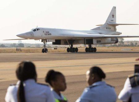 Bombardieri Tu-160 su Johannesburg