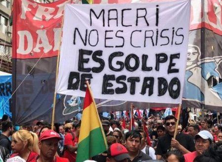 Parole urgenti sulla Bolivia