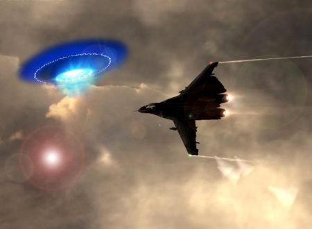 Un caccia sovietico colpì un UFO nel 1990