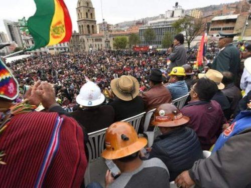 Il processo golpista in Bolivia