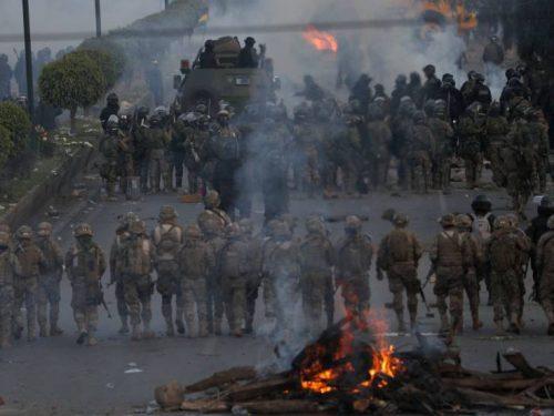 Militari e polizia in Bolivia: risentimento storico dell'apparato politico fascista