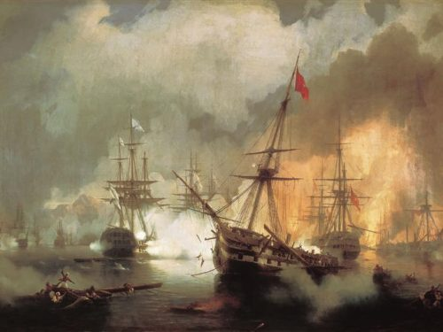 Cosa motivò la partecipazione della Russia alla battaglia di Navarino