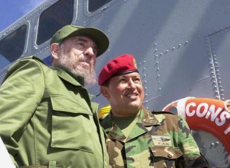 Sentire bolivariano: Cuba e Fidel