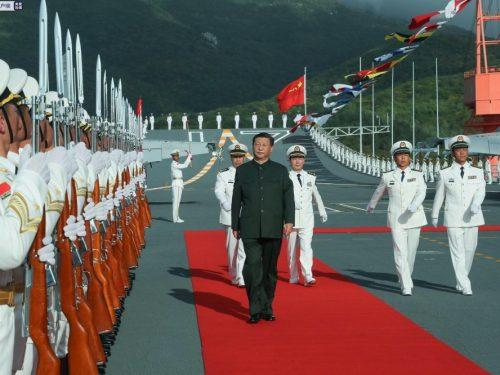 La prima portaerei cinese di costruzione nazionale entra in servizio