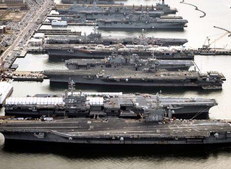 La maggior parte delle portaerei statunitensi é in riparazione