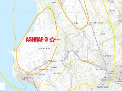 Il terremoto distrugge la base dei terroristi del MKO in Albania