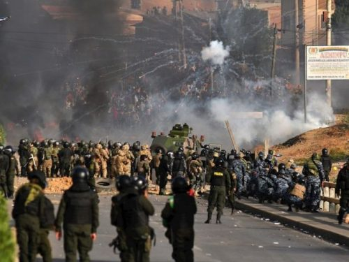 Come opera il terrorismo di Stato in Bolivia