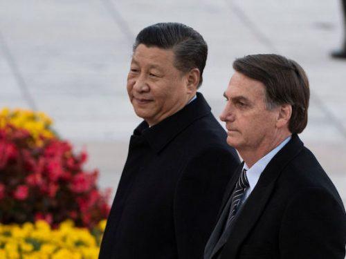 L'improvvisa devozione di Bolsonaro per la Cina