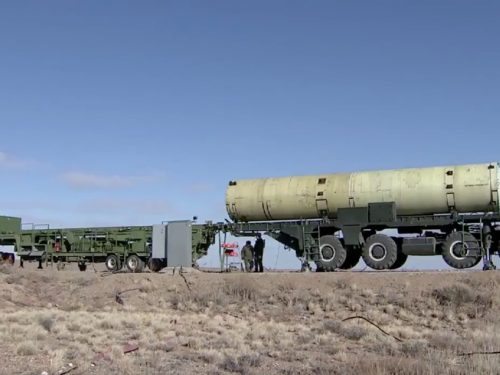 La Russia ha un nuovo gigantesco missile antibalistico (e funziona)