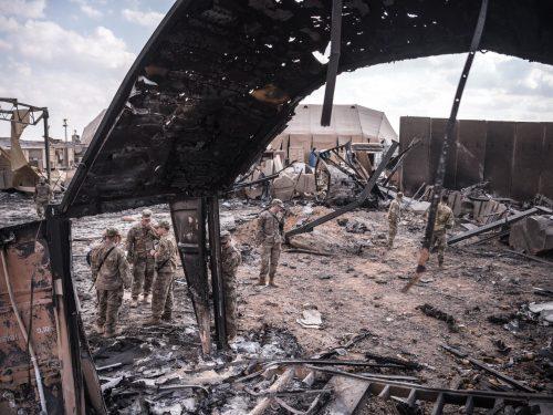 34 soldati statunitensi cerebralmente morti dopo l'attacco iraniano