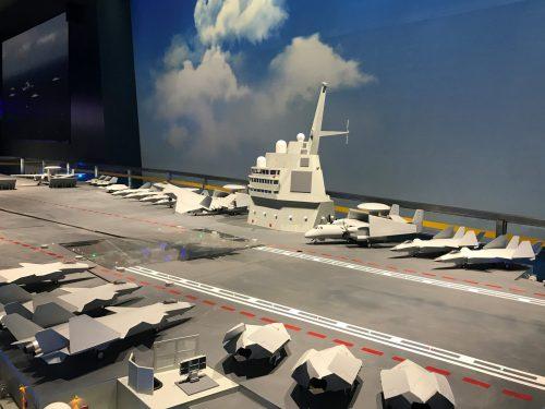 Il programma della portaerei nucleare cinese