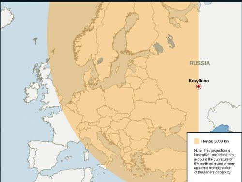 I radar russi rilevano sei caccia F-35 ad oltre 1500 km