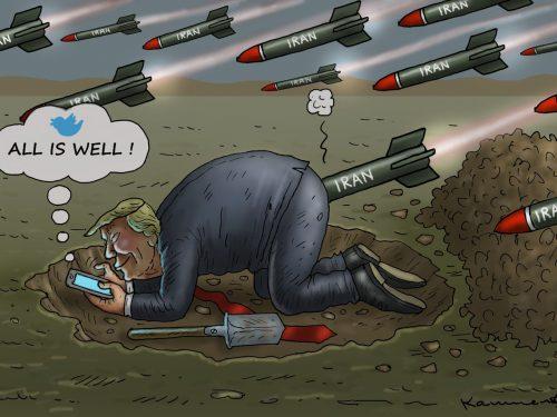 Le conseguenze della risposta missilistica dell'Iran