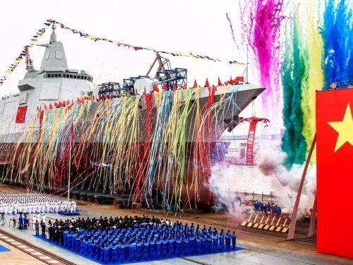 La Cina dimostra un ritmo impressionante nelle costruzioni navali