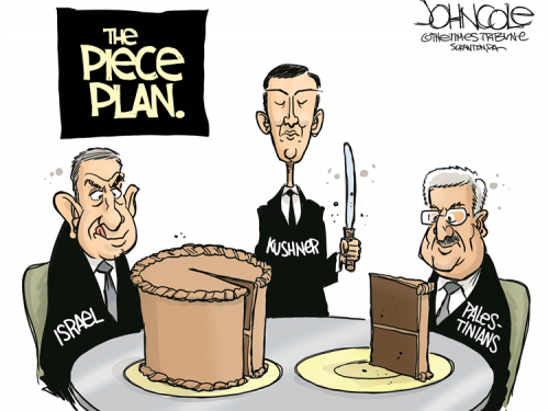 Il piano di pace dal timbro razzista sionista di Kushner