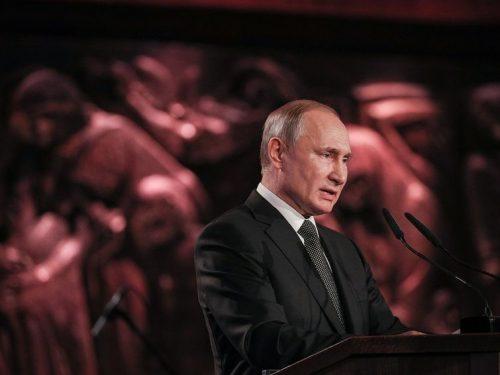 """Discorso di Vladimir Putin allo Yad Vashem: """"Questo crimine ha avuto dei complici"""""""