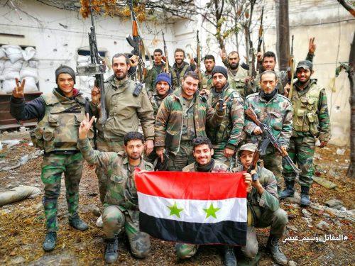 """L'Esercito arabo siriano ed alleati combattono la """"vera guerra al terrore"""""""